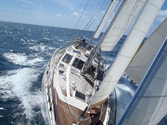 Corporate Yacht Charter - Ultimate Sailing Experience on board Salamander of Lymington with The Salamander Sailing Adventure