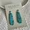 Thumbnail: Turquoise Dangle Earrings