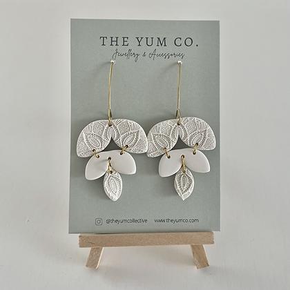 Ivory Dangle Earrings