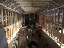 Clearwater Cove Office interior framing