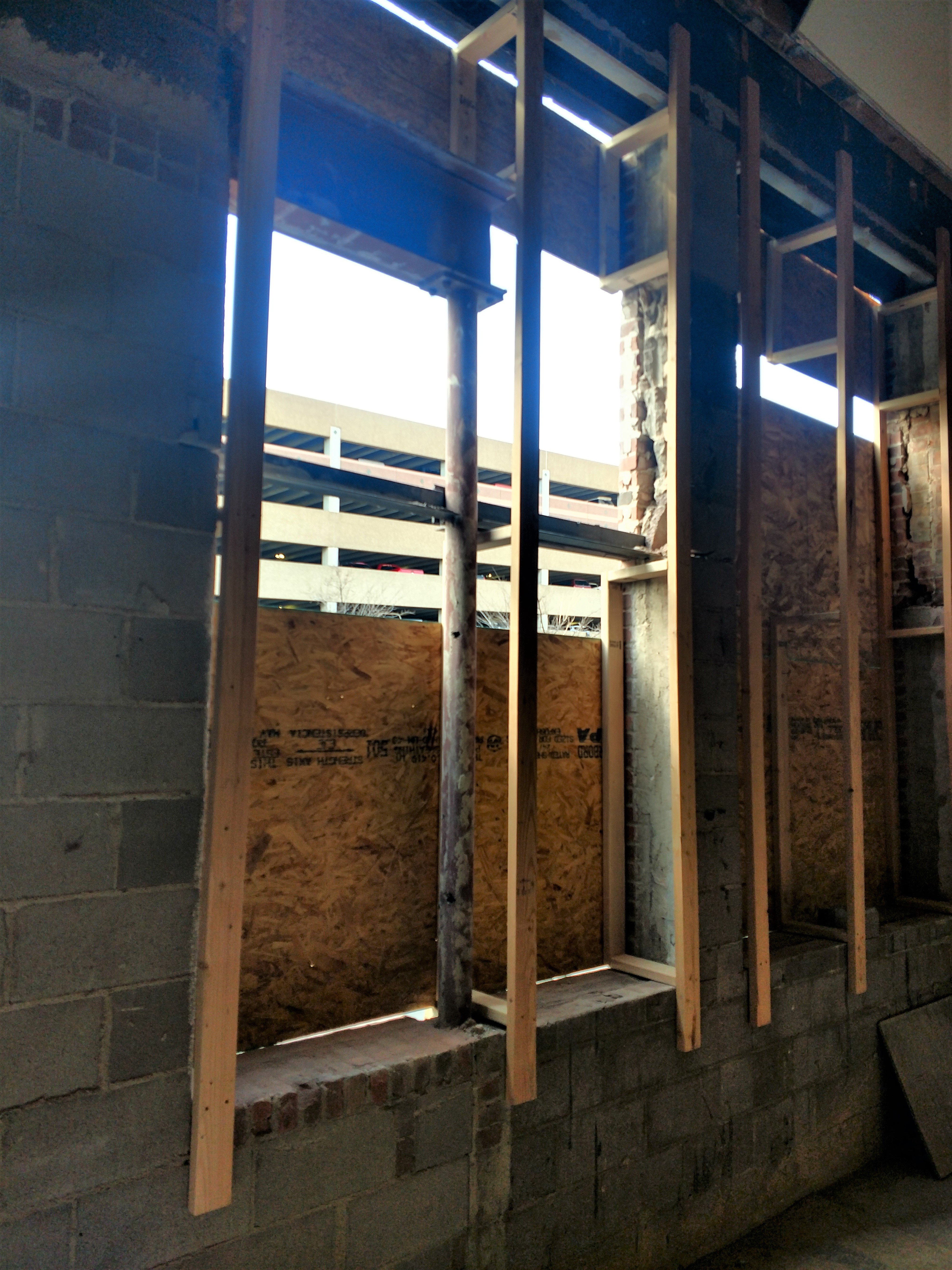 Creating Openings for New windows