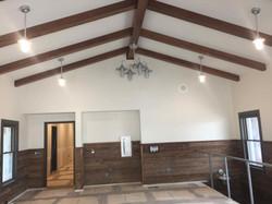 Great Room w/ exposed beams