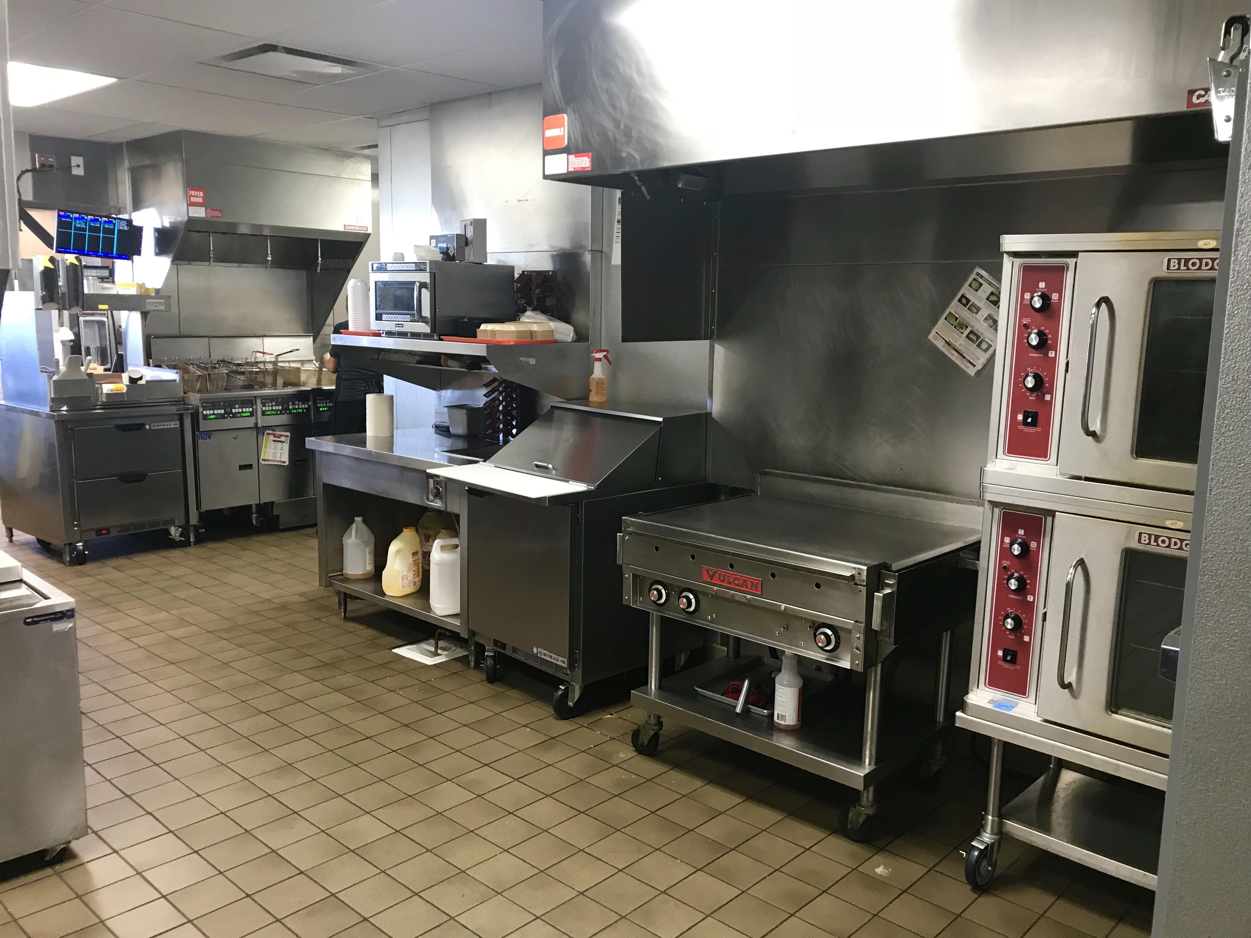 Carl's Jr. Kitchen