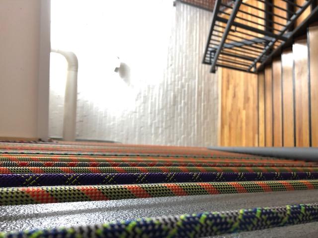 Rope Wall at Stairs