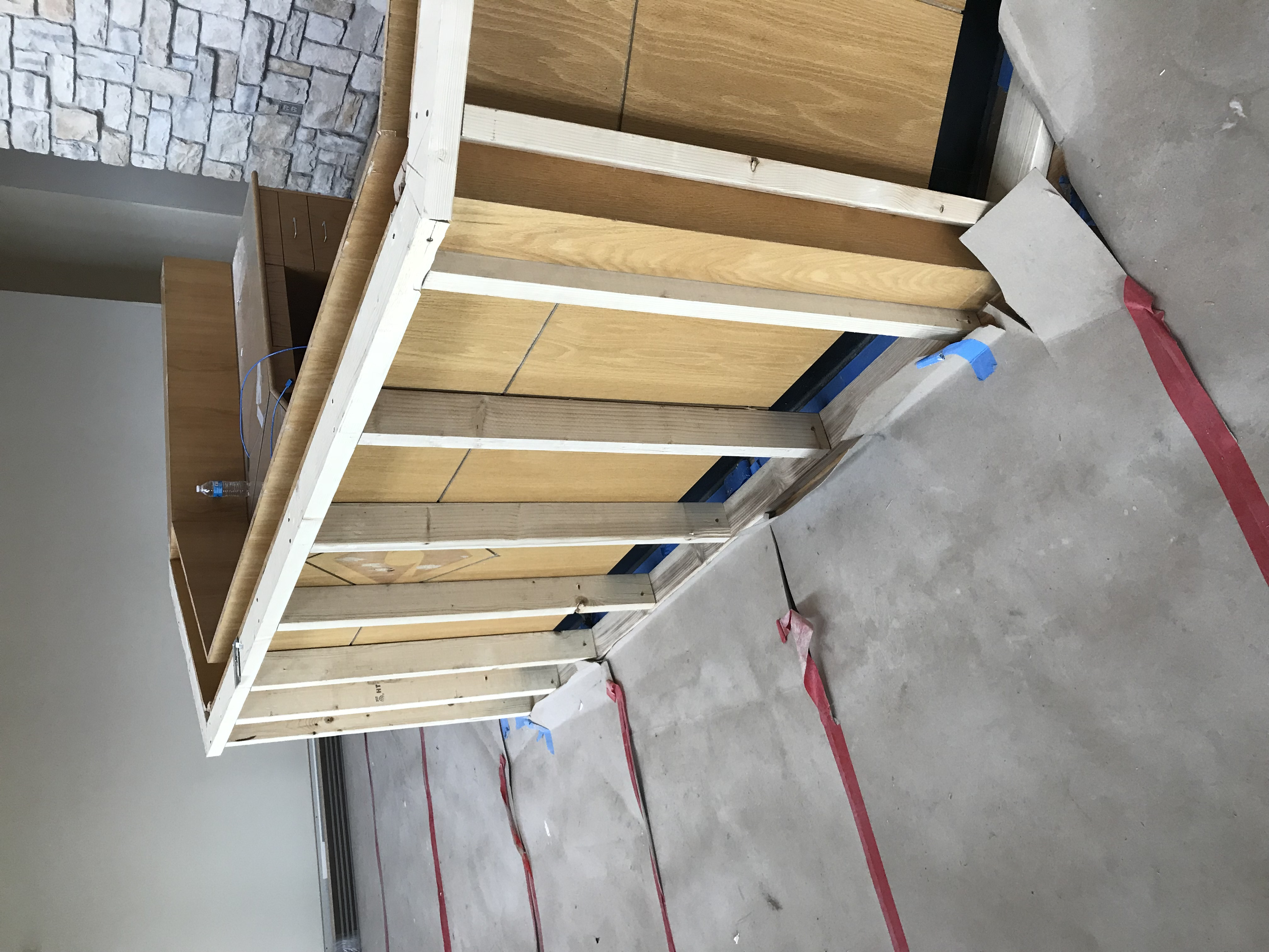 Front Reception Framing