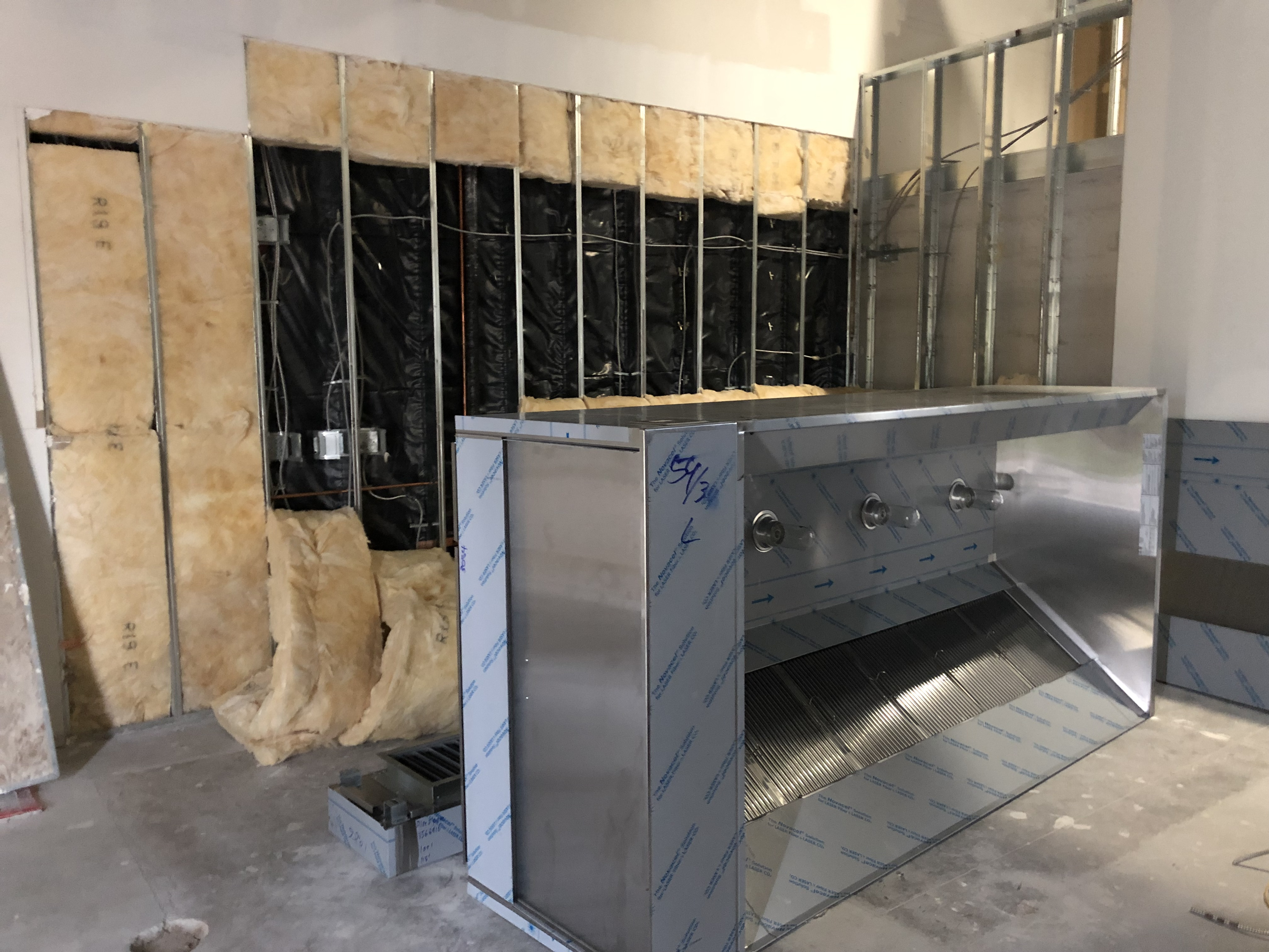 8ft exhaust hood
