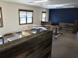 CWC office interior trim