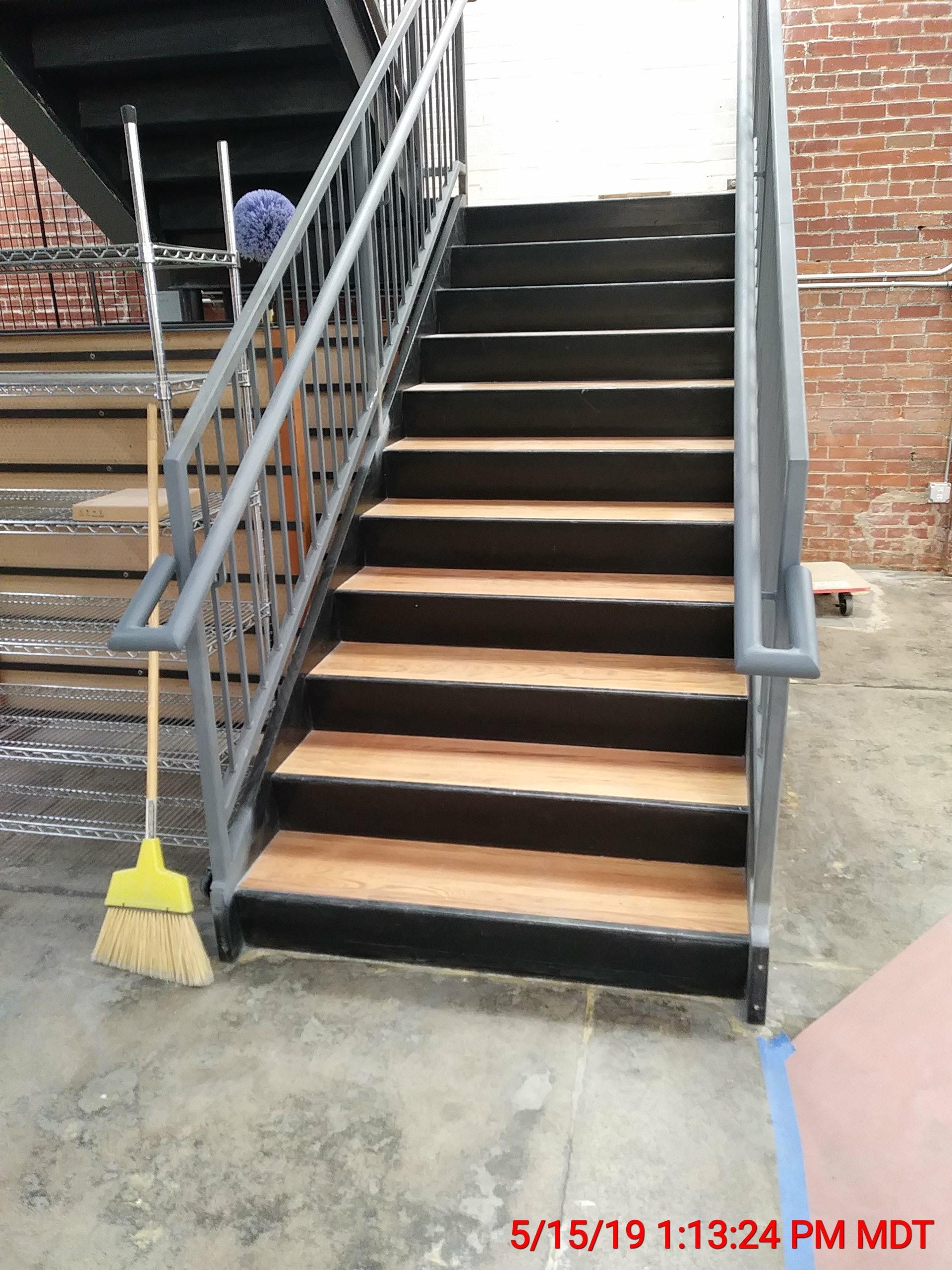 Steel Railings and Stair