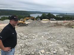Mac Oversees Excavation