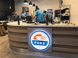 Soft opening with IPC sign