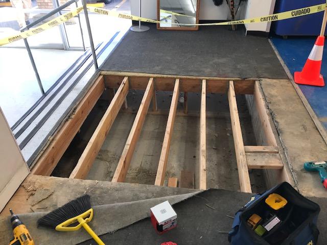 Lake Arbor Ramp Repair