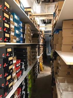 Back of House Shoe Racks