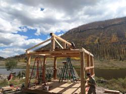 Wilderness Roof Framing