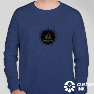 Tighe Brothers long sleeve custom fit T-shirt