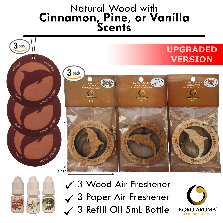 Cinnamon Pine Vanilla Bundle Pack