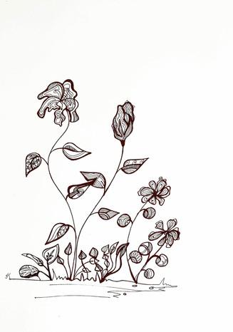 4 Flower design