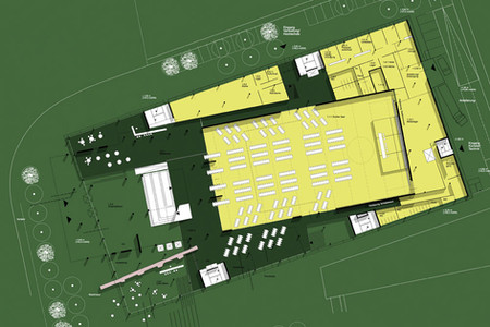 2001 Wettbewerb Kongresszentrum Darmstadt