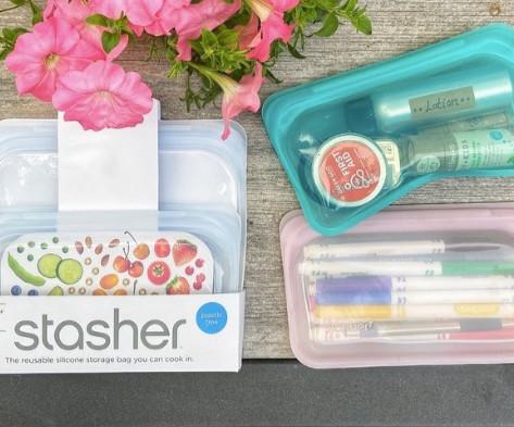 Stasher Reusable Silicone Bags