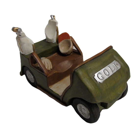 Wine Bottle Holder - Golf Cart