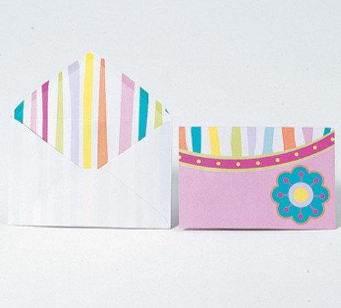 Floral Strip Card
