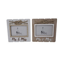MR & MRS Rope Frame