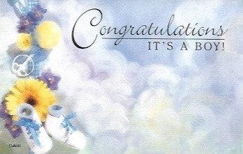 Congratulations It's A Boy