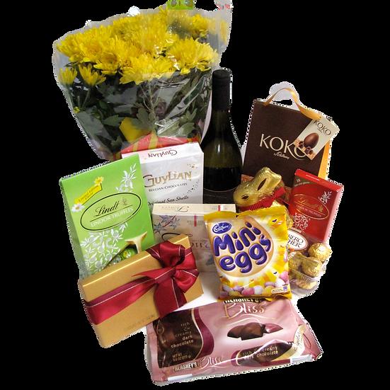Easter Basket & Flowers