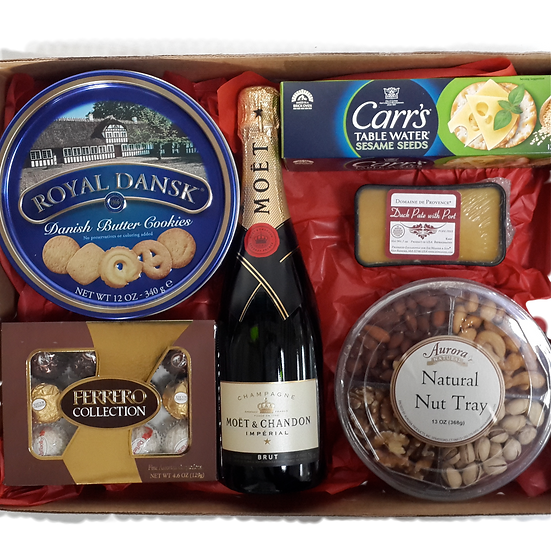 Holiday Champagne Box