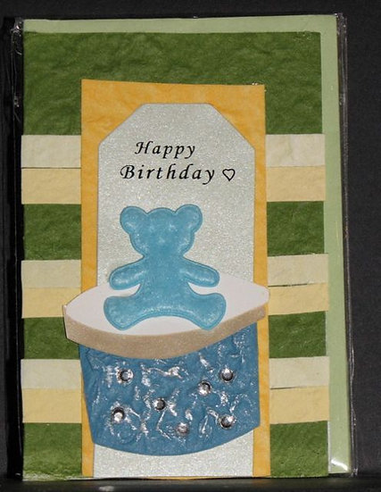 Happy Birthday - Blue Bear