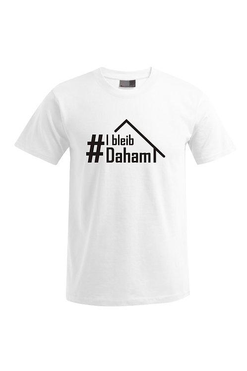 """T-Shirt - """"I bleib Daham"""""""