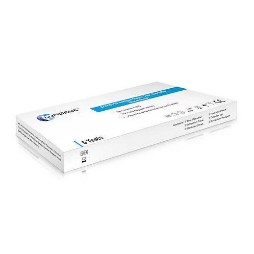 Laien Schnelltest CLUNGENE, Zulassungsnummer: 5640-S-168/21, Antigen Schnelltest, Covid-19, SARS-CoV-2, Nasal