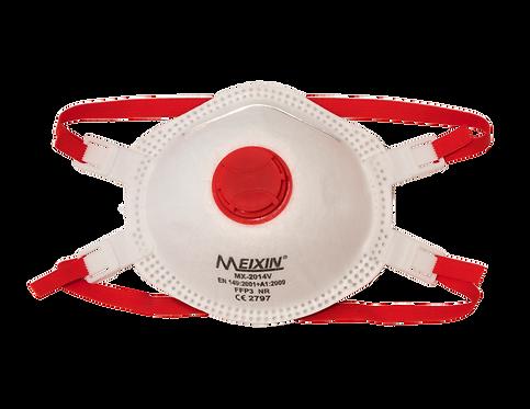 Atemschutzmaske FFP3 mit Ventil - CE - (5 Stück)
