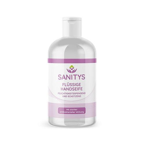 Sanitys - Antibakterielle Handseife - 500ml Flasche