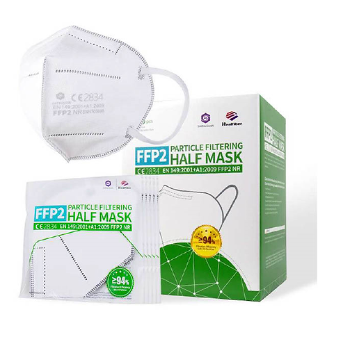Atemschutzmaske, FFP2, Hager Fashion, Schutzmaske, CE2834, Healfiber, Shengquan