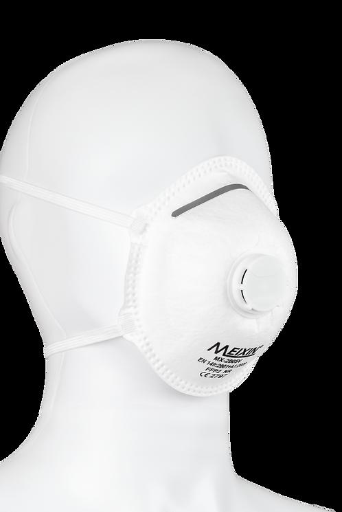 Atemschutzmaske FFP2 mit Ventil - CE - (12 Stück)