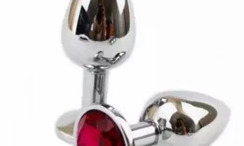 Plug anal de metal