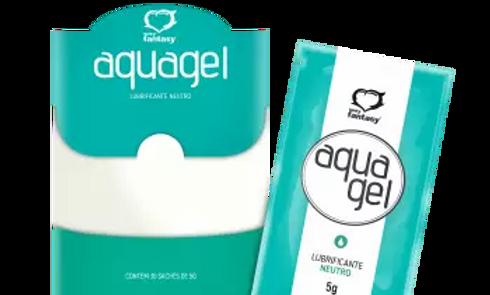Lubrificante Aquagel Neutro Sachê 5G