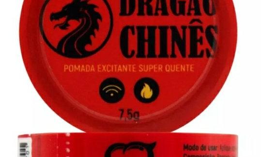 Pomada Dragão Chinês Excitante 7,5g