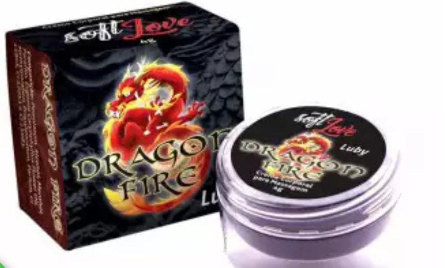 Pomada Dragon Fire Luby 4gr