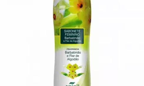Sabonete Íntimo Líquido Barbatimão e Flor de Algodão 220ml