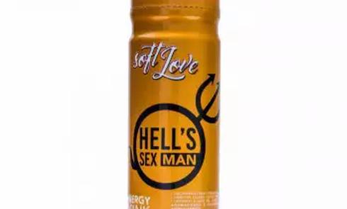 Hells Sex Energy Drink Masculino 60ml