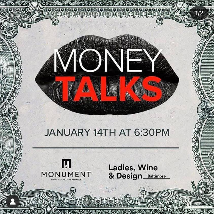Ladies, Wine & Dine with Monument Women's Creative Alliance: Money Talks!