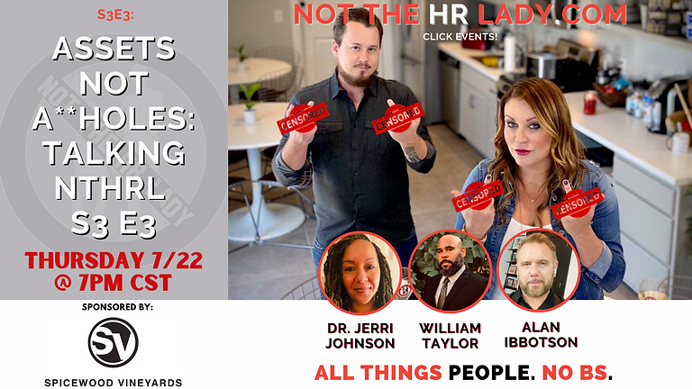 """Not the HR Lady Season 3, Episode 3... """"Just the Tip""""!"""