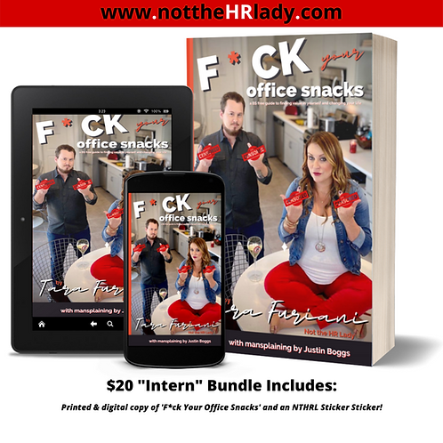 F*ck Your Office Snacks! Intern Book Bundle!