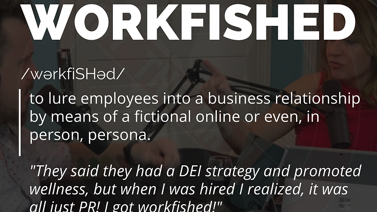 Not the HR Lady S2E7: I Got Workfished!
