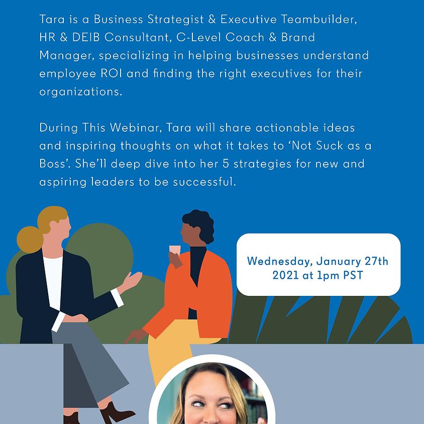 LinkedIn Presents: Don't Suck as a Boss!
