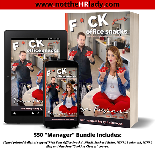 F*ck Your Office Snacks! Manager Book + Bundle!