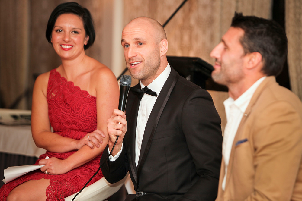 AFL legend Chris Judd at a recent charity event booked through PickStar