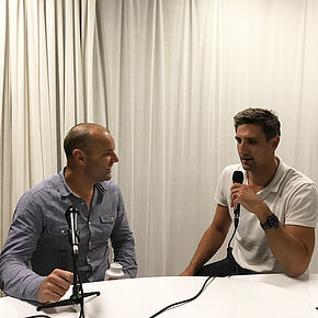 Paul Kilderry with Matthew Pavlich