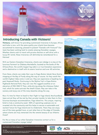 Canada with Victours